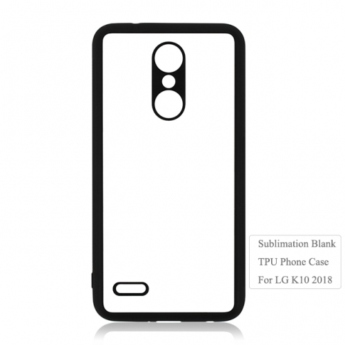 High Quality  Subliamtion 2D TPU Phone case For LG k10 2018