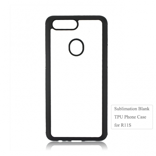 Personality 2D Diy Blank Sublimation TPU Phone Case For OPPO R11S