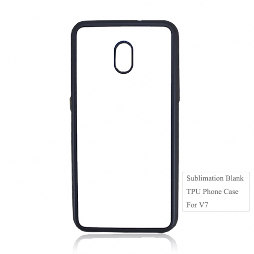 High Quality 2D Blank TPU Phone Case For ZTE V7
