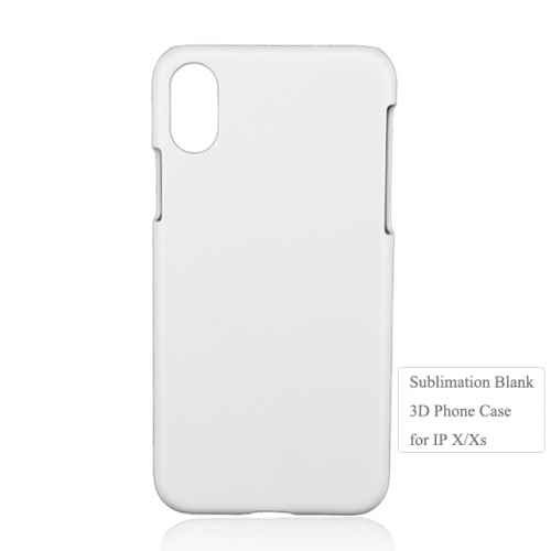 Hot Selling  3D Plastic Blank Sublimation Phone Case for IPhone X/XS