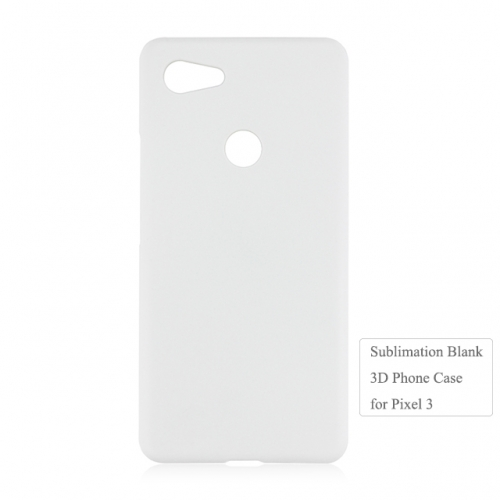 DIY Heat Transfer Blank 3D Plastic Mobile Phone Case For Google Pixel 3