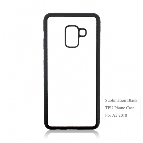 Factory Price 2D Sublimation TPU Phone Case For Sam sung A5 2018