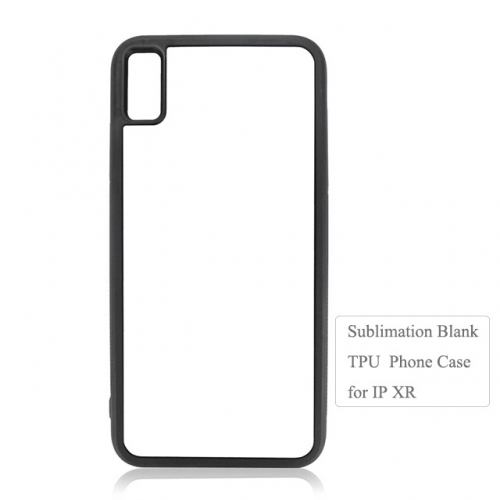 Cuatom Design Sublimation 2D Durable TPU Phone Case For IPhone XR