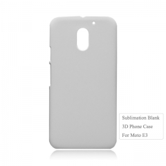 Higu Quality 3D Sublimation blnak Case For Moto E3. Moto E Serise