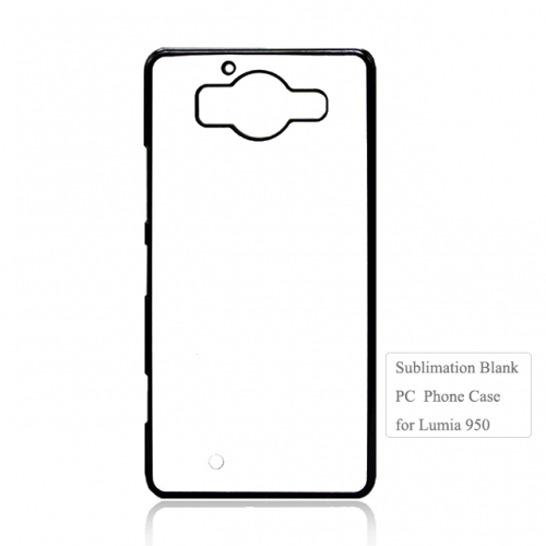 2D PC Sublimation Phone Shell For Nokia Lumia 950. Lumia Serise