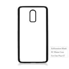 Personality 2D Plastic Heat Transfer Phone Case For One Plus 6T