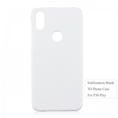 Newly 3D Blank Custom Cellphone PC Case For Moto P30 Play