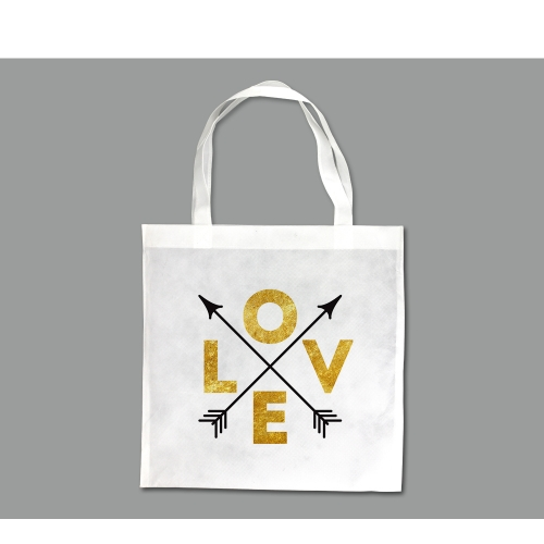 Personality DIY Fashion Sublimation Blank Tote Bag