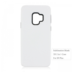 Blank 3D Sublimation 2in1 Phone Case For Sam sung S9 Plus ON Hot Sales