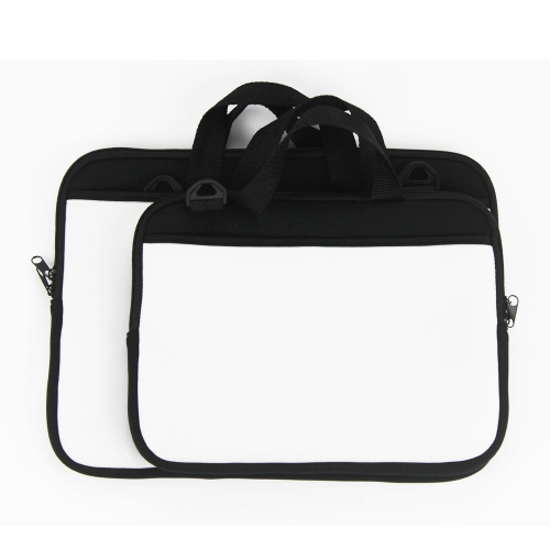 Sublimation Blank Neoprene Laptop Bag With Shoulder Strap