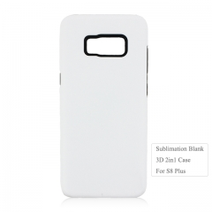 Newly Blank 3D Sublimation 2in1 Phone Case For Sam sung S8 Plus