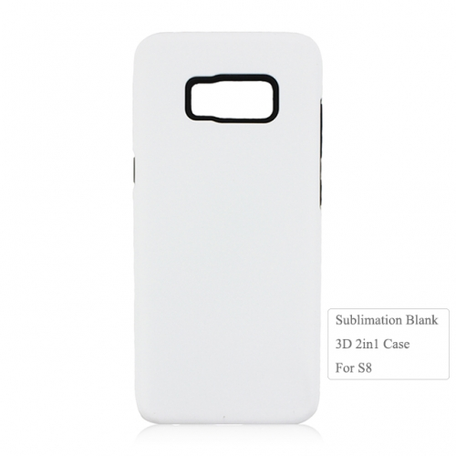 DIY 3D 2in1 Sublimation Blank Phone Case For Sam sung S8