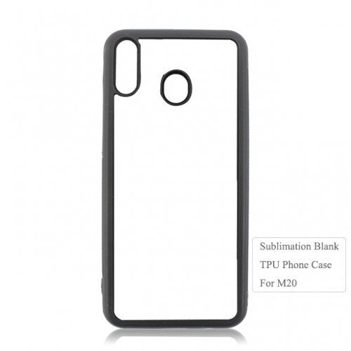 Newly Blank Sublimation 2D TPU Phone Case For Sam sung M20