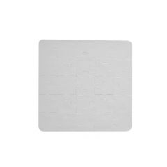 Custom DIY Sublimation Blank Polymer Jigsaw Puzzle Square With Three Size