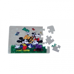 3D Printing Blank Polymer Jigsaw Puzzle A4 A5 A6 Size