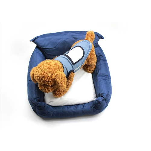 Custom Soft Blank Sublimation Oxford Cloth Pet Bed