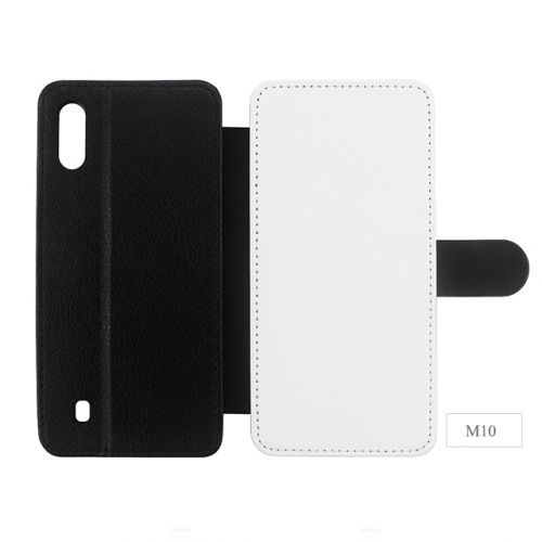 Newly Blank Sublimation PU leather Phone Case For Sam sung M10