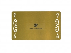 Personality Design Blank Sublimation Metal Name Card
