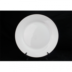 "10"" sublimation blank ceramic plate tray and dishes plates for dinner food"
