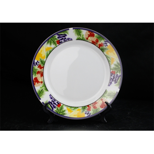 Wholesale Handmade Sublimation Ceramic Plates for Restaurants