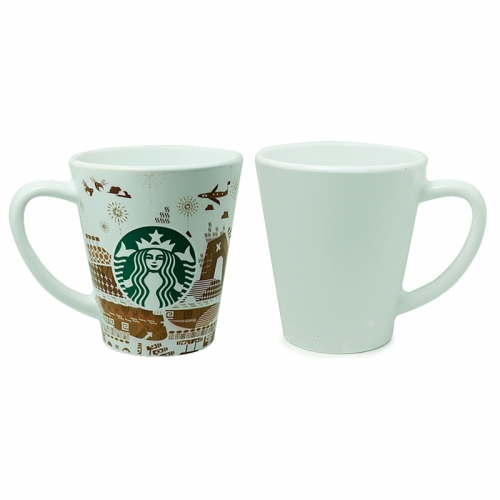 Sublimation Blank Custom Design 12oz Polymer Latte Mug