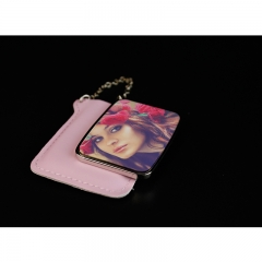 Sublimation Rectangular Hand Mirror With Leader Case