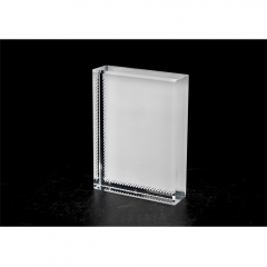 Custom Designs Sublimation Blank Small Square Crystal