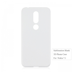 2019 Newly Custom 3D Printing Blank Phone Case For Nokia X7