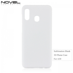 Newly 3D Blank Back Phone Cover for Galaxy A30 on Hot Sales
