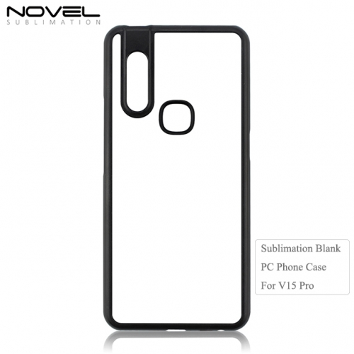 New Arrival Sublimation Blank 2D PC Phone Case For Vivo V15 Pro