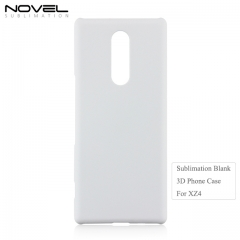 2019 New Arrival 3D Blank PC Phone Back Cover For Sony XZ4