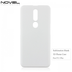 Factory White Matte PC Blank Sublimation 3D Mobile Phone Case For OPPO F11 Pro