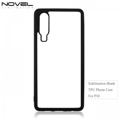High Quality Sublimation 2D TPU Phone Back Cover For Huawei P30