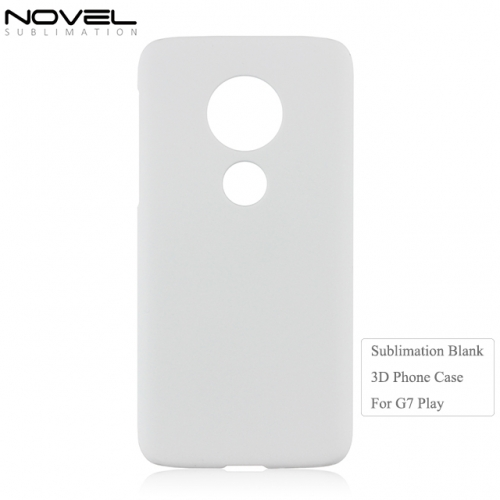 2019 New Arrival 3D PC Sublimation Phone Back Cover For Moto G7 Play