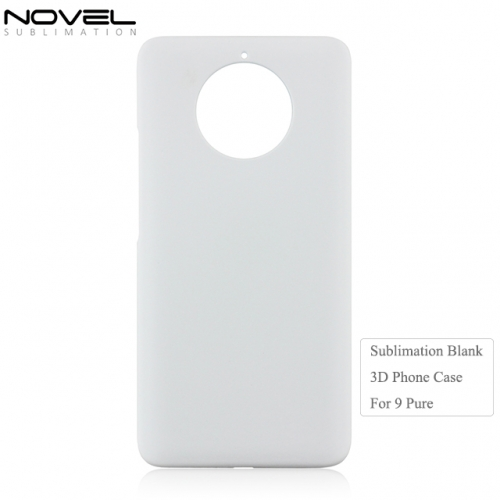 Personality 3D Plastic Blank Phone Shell For Nokia 9 Pure View