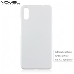 3D Plastic Blank Back Phone Cover For Vivo X23 Symphony Edition