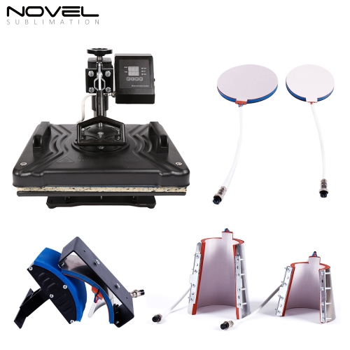 hot sales 6 in 1 Economy multipurpose combo heat press