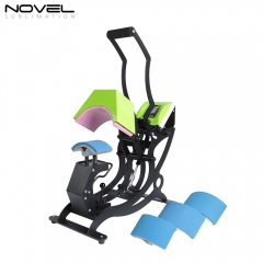 High Quality Economic New 4 in1 Cap Heat Press Machine