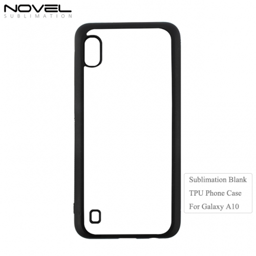 New Arrival 2D Soft Rubber Heat Transfer Blank Phone Case For Galaxy A10