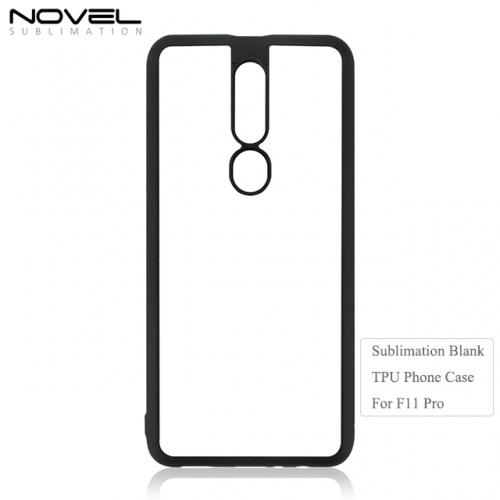 2019 New Arrival 2D Soft TPU Sublimation Phone Case For OPPO F11 Pro