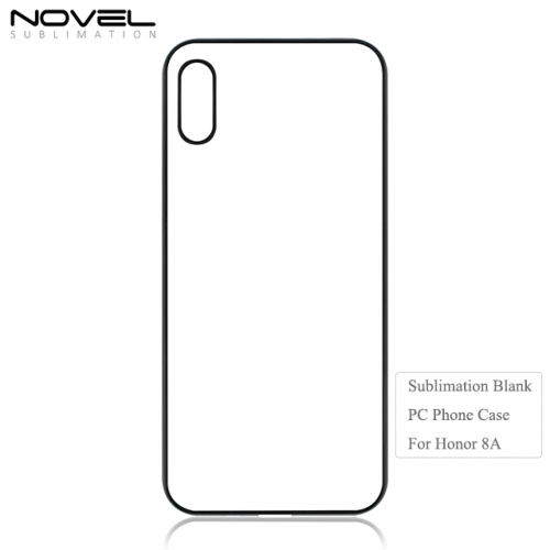 Newly 2D PC Sublimation Blank Back Phone Cover For Huawei Honor 8A