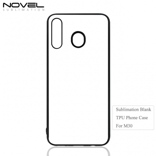High Quality New 2D Sublimation Blank TPU Phone Case For Sam sung M30