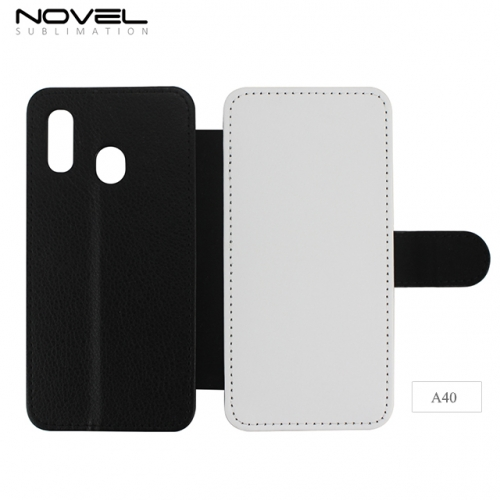 Newly Blank 2D Sublimation PU Leather Case  For Sam sung Galaxy A40