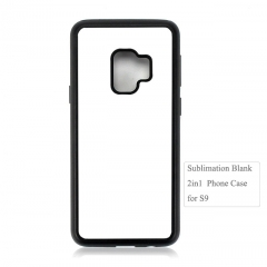 Factory Selling 2in1 Sublimation Blank Phone Case For Galaxy S9