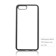 Factory Price Sublimation Blank 2D TPU Phone Housing For Huawei Honor V10