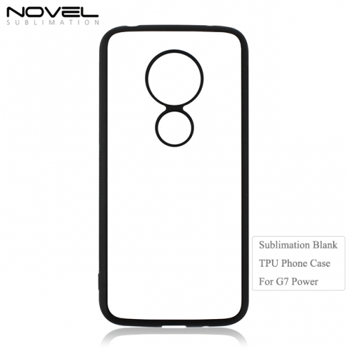 New Arrival 2D Heat Transfer TPU Back Phone Cover For Moto G7 Power