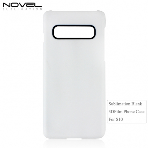 New Arrival Sublimation 3D Film Mobile Phone Case For Galaxy S10