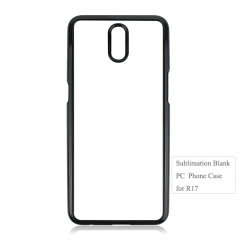 Exquisite 2D Sublimation PC Blank Phone Case For OPPO R17