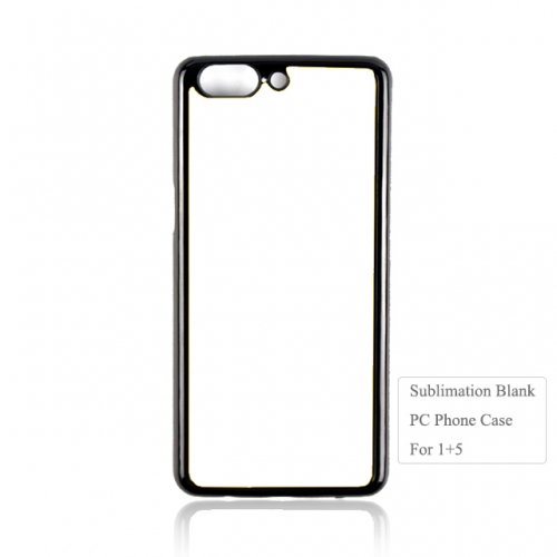 High Quality 2D Plastic Heat Transfer Phone Case For One Plus 5