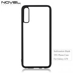 Personality DIY Sublimation Blank 2D TPU Phone Case For Galaxy A70